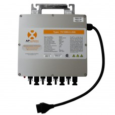 Microinversor APsystems YC1000-3 + Cable Troncal Y Tapón