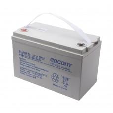 Batería 12V 100Ah EPCOM PL-100-12 con Tecnología AGM