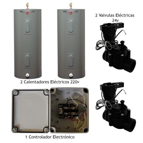 Kit Calentador El 233 Ctrico Para Alberca 220v Electr 243 Nico
