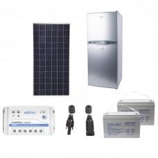 Refrigerador Solar 105 L Kit Completo Paneles Y Baterías
