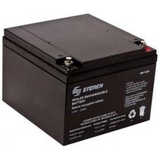 Batería Steren BR-1212 12V 24Ah
